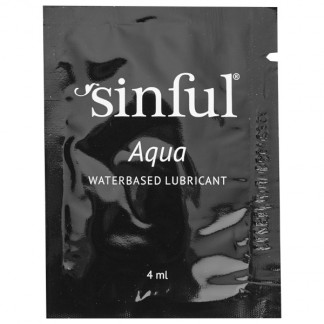 Sinful Aqua Vandbaseret Glidecreme 4 ml