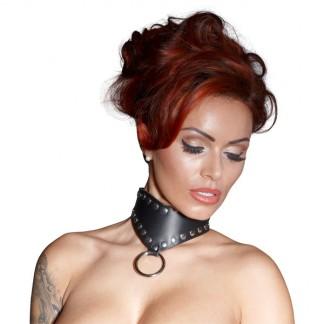 BDSM Halsbånd Med O-ring