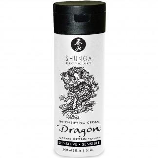 Shunga Dragon Sensitive Stimulerende Creme 60 ml