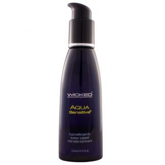 Wicked Aqua Sensitive Vandbaseret Glidecreme 120 ml
