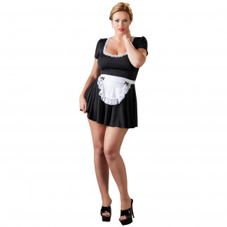 Cottelli French Maid Stuepige Kostume Plus Size