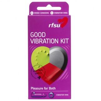 RFSU Good Vibration Kondomer 6 stk
