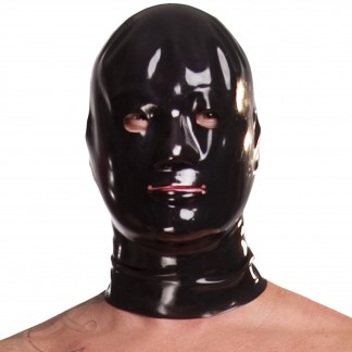 Saxenfelt Latex Maske Mænd