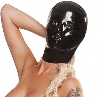 Saxenfelt Latex Maske Kvinde