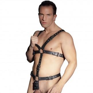 Zado Læder Harness Mænd