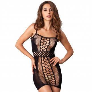 Leg Avenue Multi Net Mini Kjole