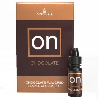 Sensuva On Chokolade Stimulerings Olie 5 ml