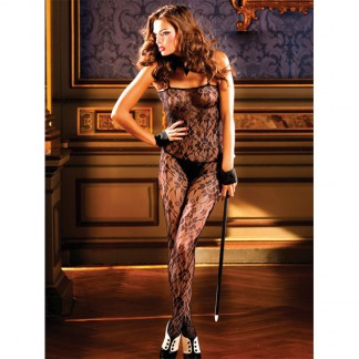 Baci Catsuit Blonde Bodystocking Sort