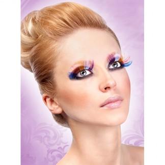 Baci Lange Glamour Multi Farvet Øjenvipper