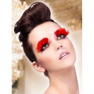 Røde øjenvipper