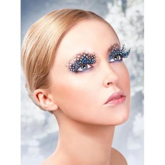 Øjenvipper Blå Sort