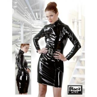 Lak Dress i sort