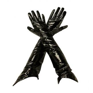 Black Level Lange Lak Handsker