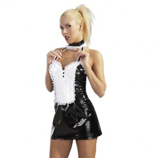 Black Level Stuepige Uniform i Lak