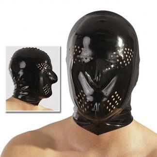 Latex Maske med Huller
