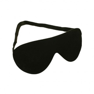 Sort Læder Blindfold