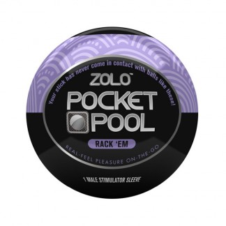 Zolo Pocket Pool Rack Em Onani Håndjob