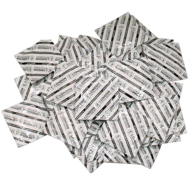 London Ekstra Store Kondomer 100 stk