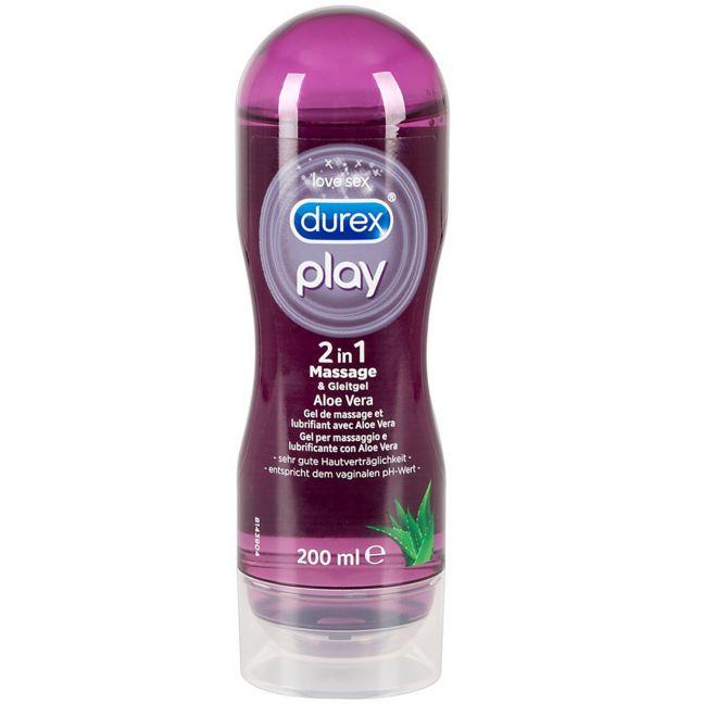 Durex Play 2-i-1 Massageolie og Glidecreme 200 ml