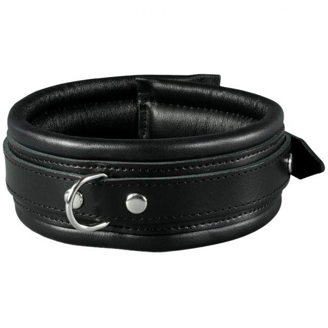 SToys Sort Læder Halsbånd