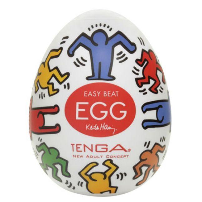 TENGA Egg Keith Haring Dance Onani Håndjob til Mænd