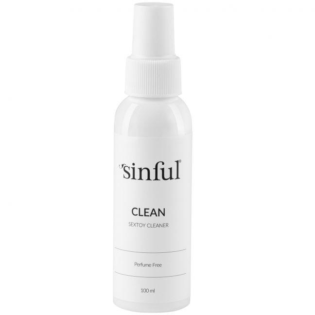 Sinful Clean Sexlegetøjs Rengøring 100 ml