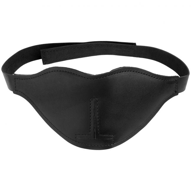 Spartacus Læder Blackout Blindfold