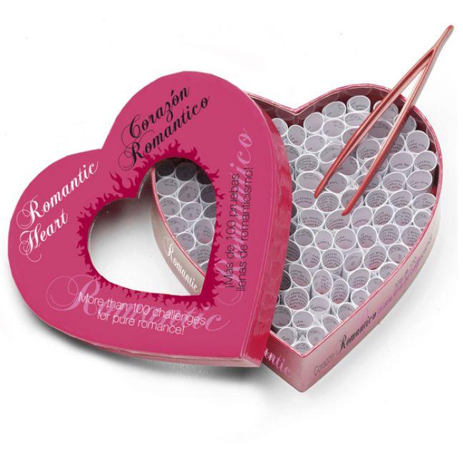 Romantic Heart Full of Foreplay Erotisk Spil for Par