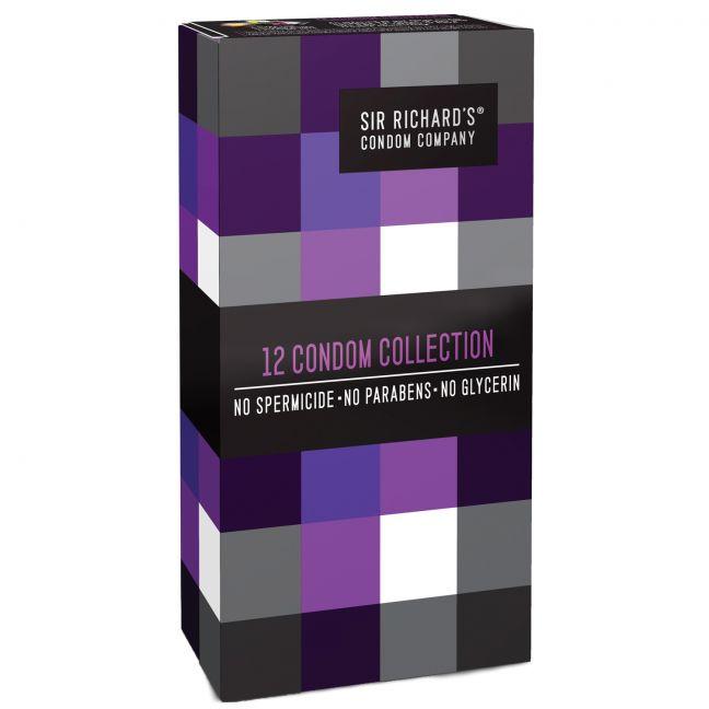Sir Richards Collection kondomer 12 stk