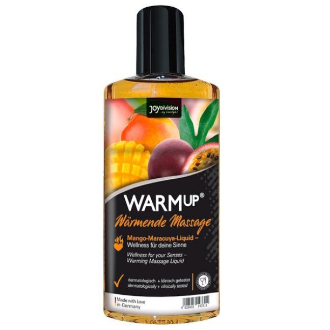 Joydivision WARMup Varmende Massageolie med Smag 150 ml
