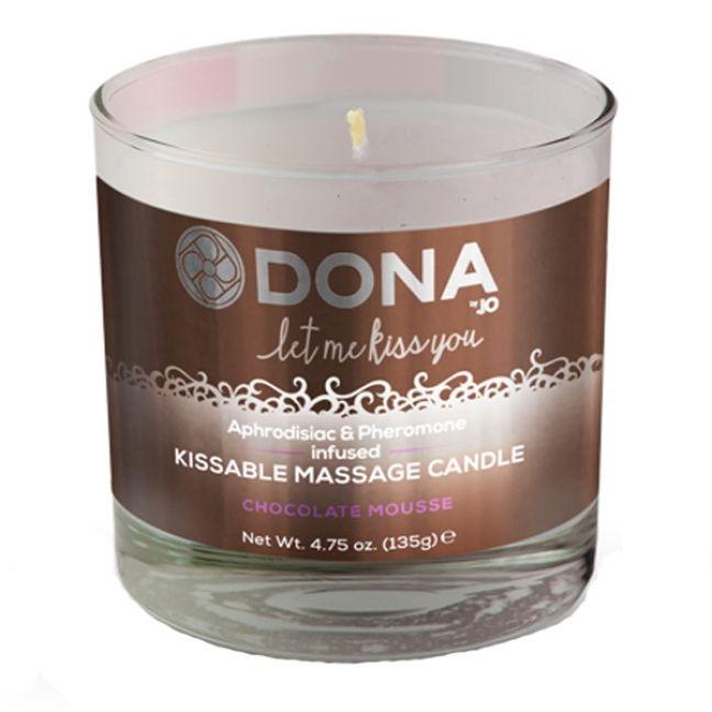 Dona Kissable Massagelys med Smag 135 gr