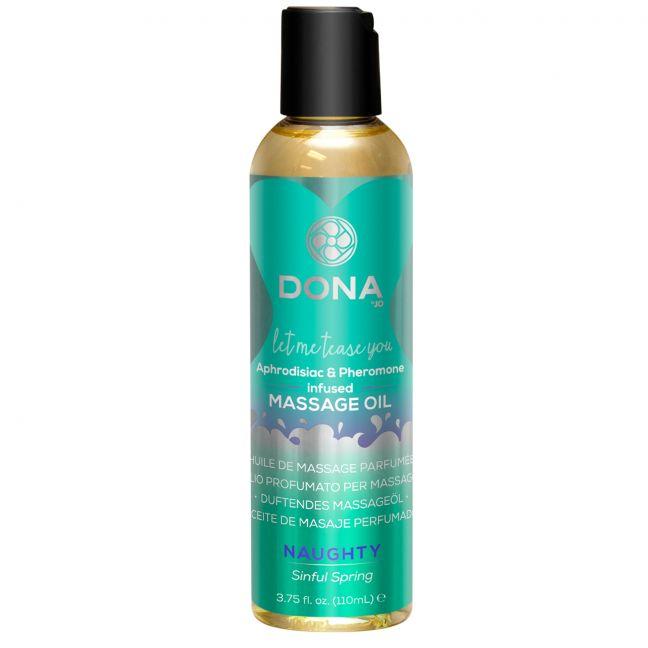 Dona Massageolie med Duft 125 ml