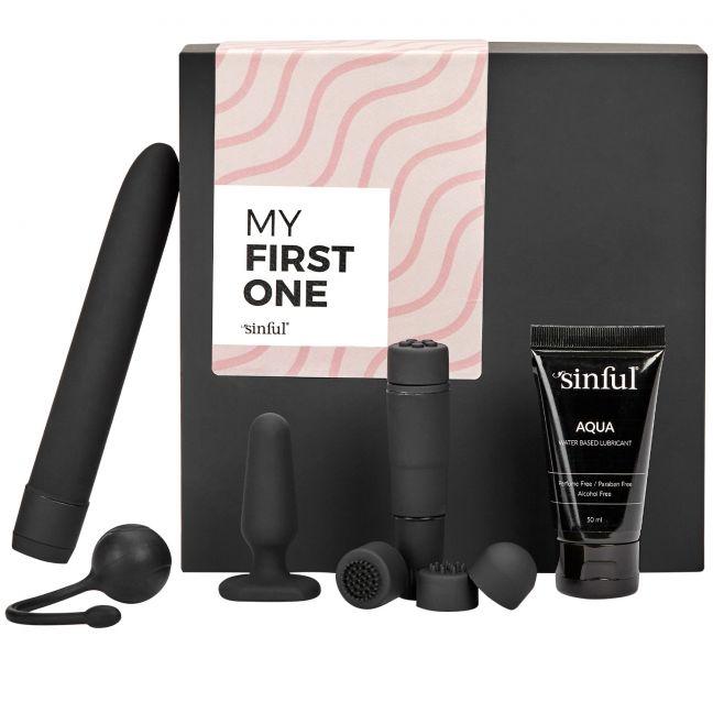 Sinful My First One Sexlegetøj Begynder Boks med A-Z Guide
