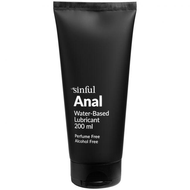 Sinful Anal Vandbaseret Glidecreme 200 ml