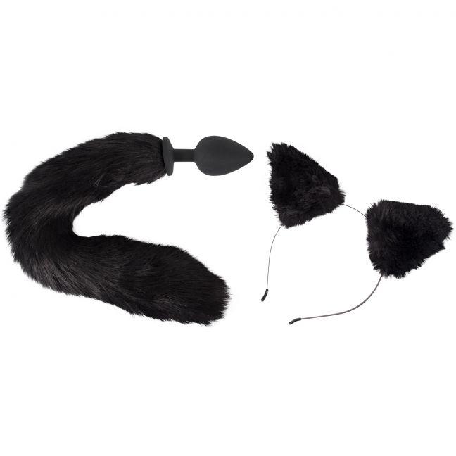 Bad Kitty Katte Anal Plug og Ører