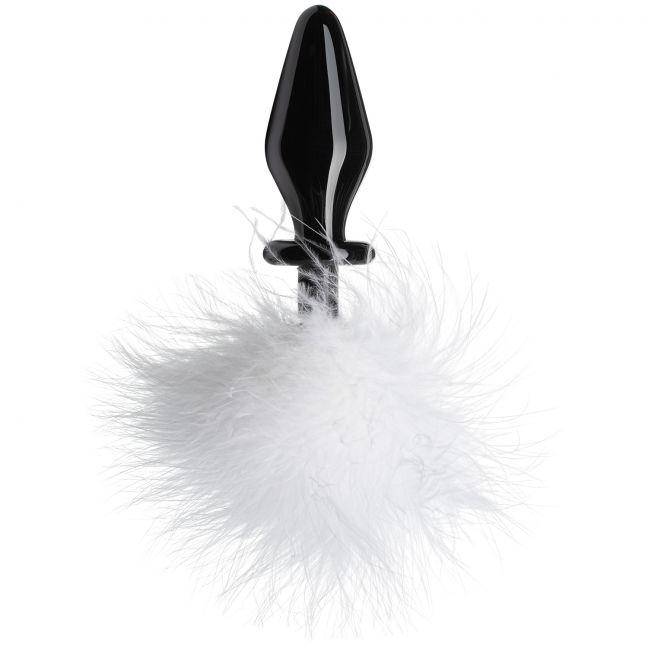 Tailz Fluffer Bunny Glas Anal Plug