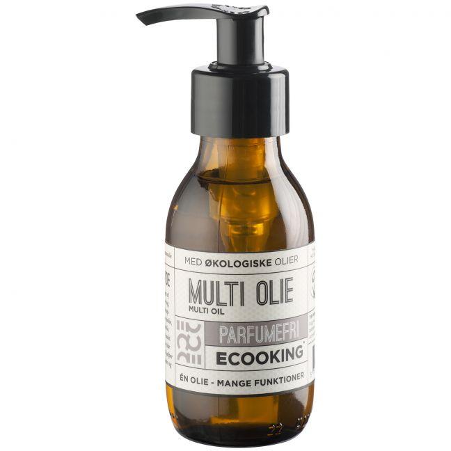 Ecooking Parfumefri Multi Olie 100 ml