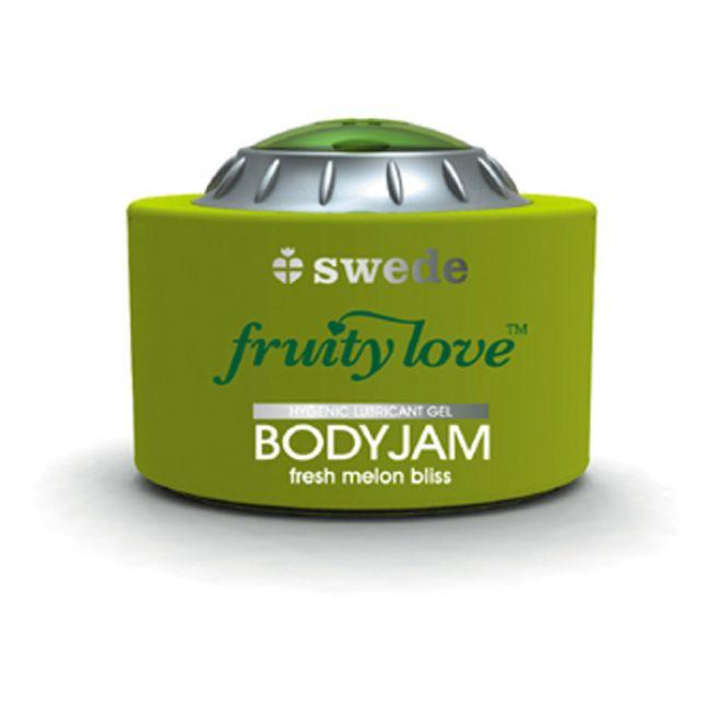 Swede BodyJam Glidecreme med Smag 150 ml