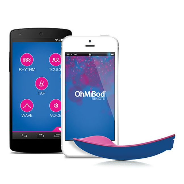OhMiBod BlueMotion App-styret Trådløs Klitoris Vibrator
