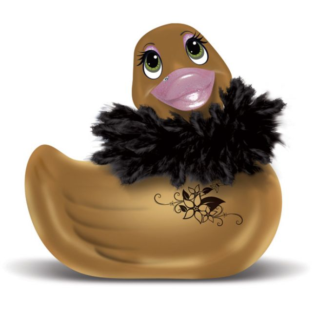 I Rub My Duckie Paris Guld And 3-speed Vibrator
