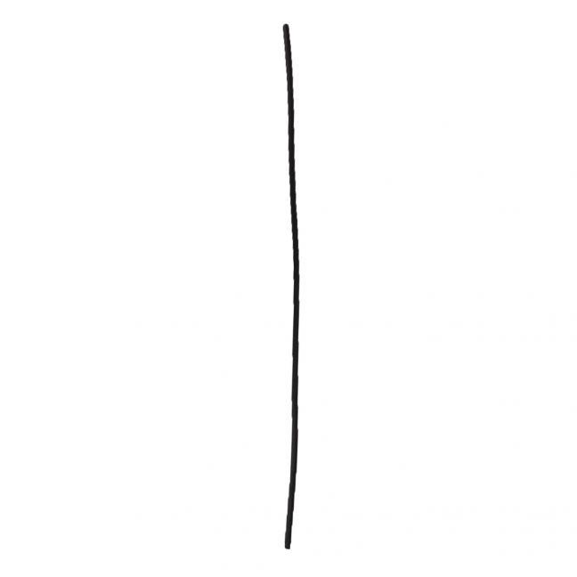 Spanskrør Med Sort Overflade 80 cm