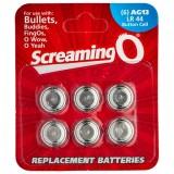 Screaming O Batterier AG13