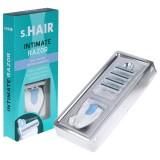 s.Hair Mini Intim Shaver Med 4 Ekstra Blade