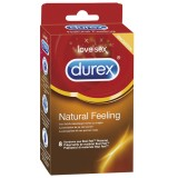 Durex Natural Feeling Latexfri Kondomer 8 stk