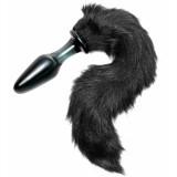 Tailz Midnight Fox Tail Glas Butt Plug