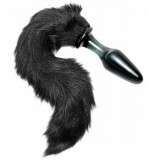 Tailz Midnight Fox Tail Glas Butt Plug