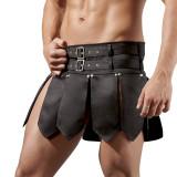 Svenjoyment Gladiator Skirt med 2 Bælter