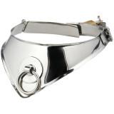 Kiotos Cleopatra Låsbar Metal Halsbånd med O-ring
