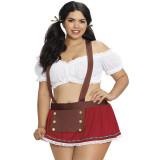 Dreamgirl Heidi Kostume Plus Size