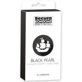 Secura Black Pearl Kondomer 12 stk